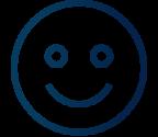 smile deep blue